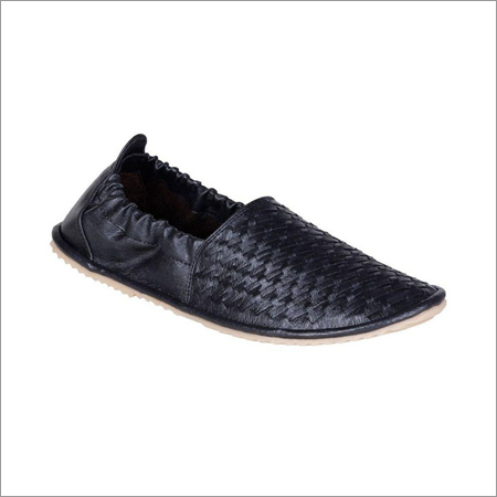 Men Black Loafers Shoes