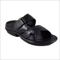 Men Black Slippers