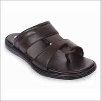 Men Brown Slippers