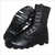 High Ankle Leather Military Boot