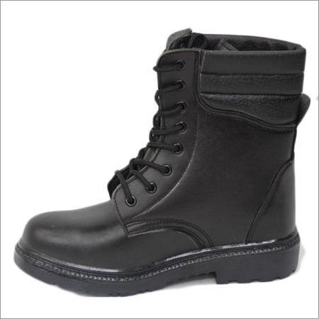 PU Leather Long Safety Boots