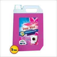 5 Litre Snow Wash Liquid Detergent