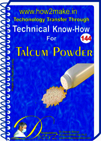 Talcum Powder Technical Know How Report
