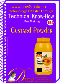 Custard Powder Technical Know-How Report