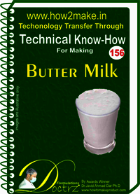 Butter Milk Technical Know-How Report