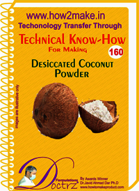 Decicated Coconut Powder Technical Know-How Report