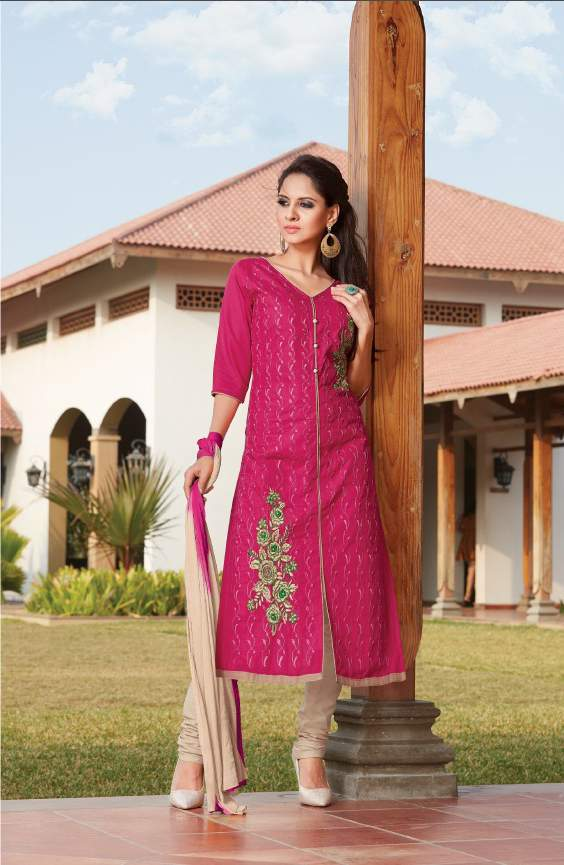 Raheja topaz catalog poly cotton embroidered