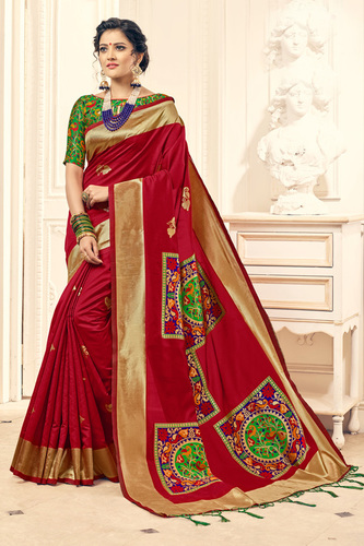 Designer Traditional Silk saree