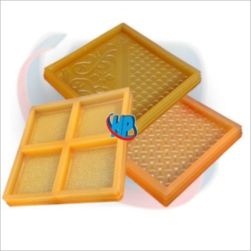 Chequered Tile PVC Mould