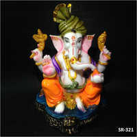 8 Inches Lord Pagdi Ganesh