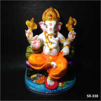 8 Inches Lord Gaddi Ganesh