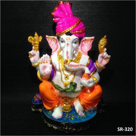 12 Inches Lord Pagdi Ganesh