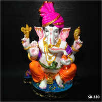 12 Inches Lord Pagdi Ganesh