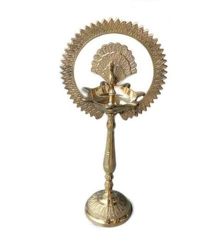 Beautiful Large Brass Polished Kerala Deep