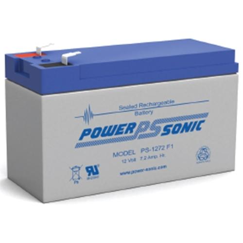 Powersonic 12V, 7.2AH Sealed Lead Acid Battery