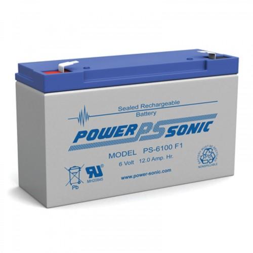 Powersonic 6V, 10AH Sealed Lead Acid Battery
