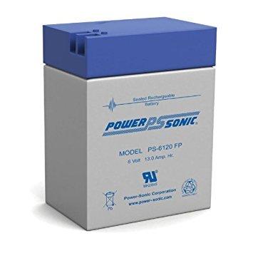 Powersonic 6V, 12AH Sealed Lead Acid Battery