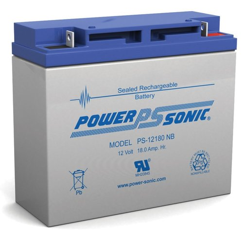 Powersonic 12V, 18AH Sealed Lead Acid Battery
