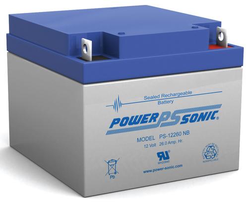 Powersonic 12V, 26AH Sealed Lead Acid Battery