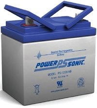Powersonic 12V, 33AH Sealed Lead Acid Battery