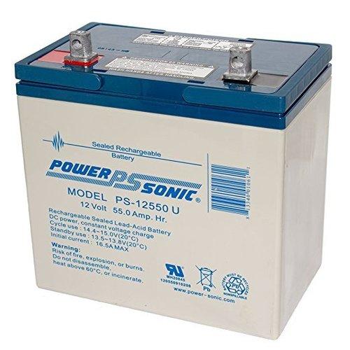 Powersonic 12V, 55AH Sealed Lead Acid Battery