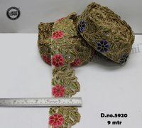 Net Embroidery Lace