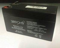 Surepower 12V, 1.2AH Sealed Lead Acid Battery