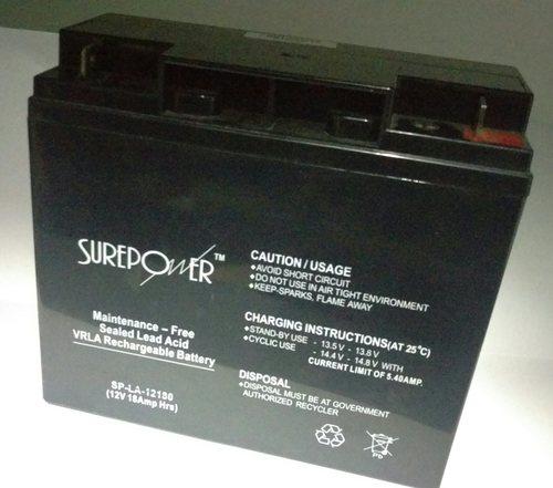 Surepower 12V, 18AH Sealed Lead Acid Battery