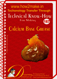 Calcium Based Grease Technical Know-How