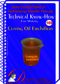 Cutting Oil Emulsifier Technical Know-How Report