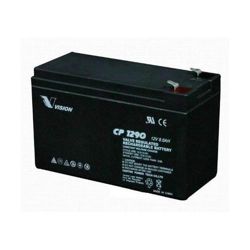 Vision 12V, 9AH Sealed Lead Acid Battery, CP-1290