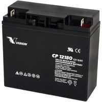 Vision 12V, 18AH Sealed Lead Acid Battery CP-12180