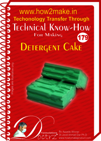 Detergent Cake Technical Know-How Report