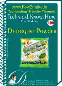 Detergent Powder Technical knowHow Report