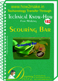 Scouring Bar Technical Know-How Report