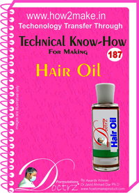 Hair Oil Technical Know-How Report