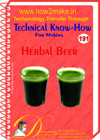 Herbal Beer Technical Know-How Report