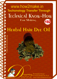 Herbal Hair Dye Oil Technical Know-How Report