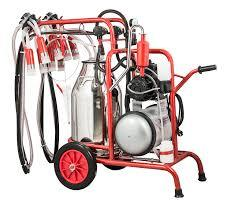 Double Bucket Double Milking machine
