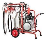 Double Bucket Double Milking machine