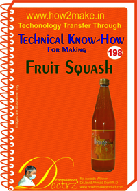 Fruit Squash Technical Know-How Report