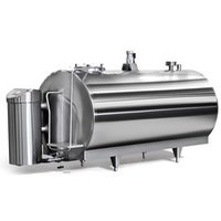bulk dairy milk cooler