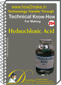 Hydro Chloric Acid Technical Know-How Report
