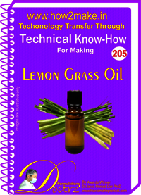 Lemon Grass Oil Technical Know-How Report