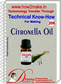 Citronella Oil Technical knowHow Report