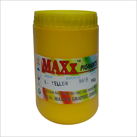 Golden Yellow Pigment Paste