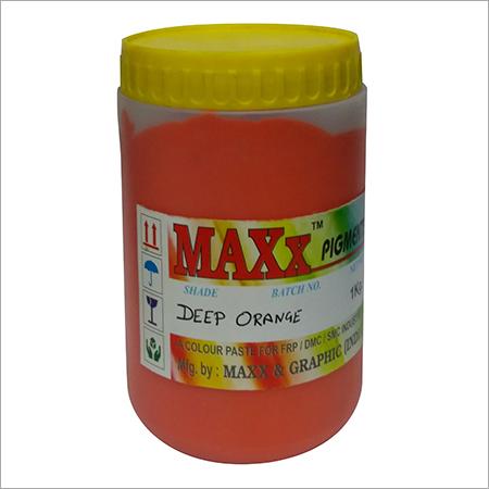 Deep Orange Pigment Paste