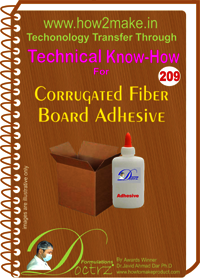 Carrogated Fiber Board Adhesive Technical Know-How Report