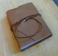 Handmade Leather Notebook Journal