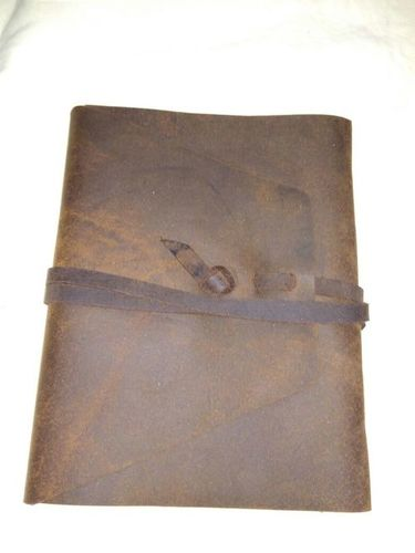 Personalized Custom Leather Notebook